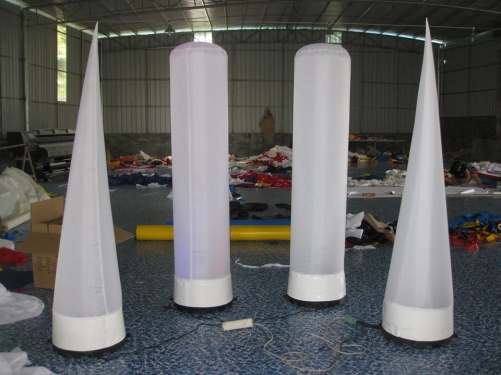 Advertising Inflatable Light Column