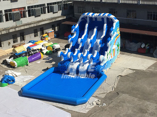 Best Seller Blow Up Water Park For Kids Inflatable Outdoor Water Park