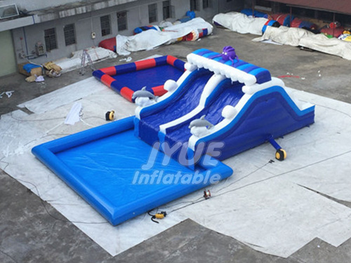 Professional Supplier Wave Ground Water Park Inflatable Water Park For Kids