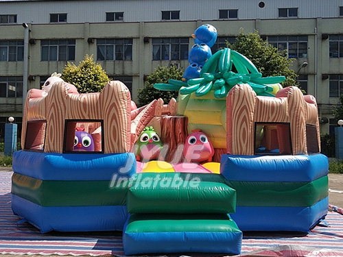 Outdoor Inflatable Fun City Giant Inflatable Playgrounds