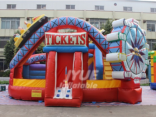 Amusement Park Inflatable Playground