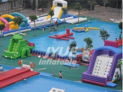 Large Portable PVC Intex Family Rectangular Metal Frame Swimming Pool , Square Swimming Pool For Kids