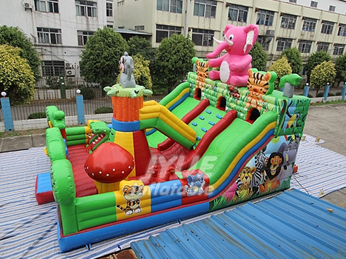 Custom Inflatable Slide Castle Playground With Factory Price