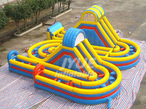Kids Inflatable Obstacle Course Inflatable Sport Equipment