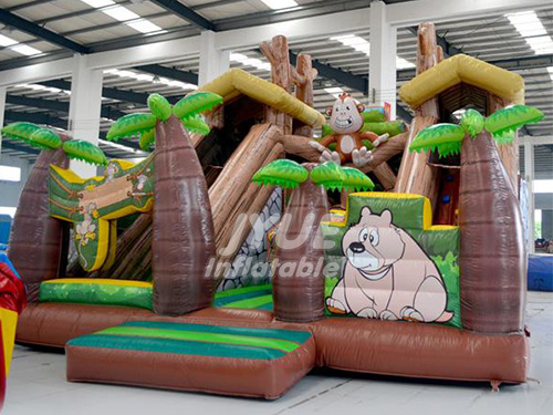 On Sale Indoor Outdoor Inflatable Playground Fun City