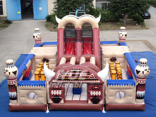 Giant Inflatable Playground