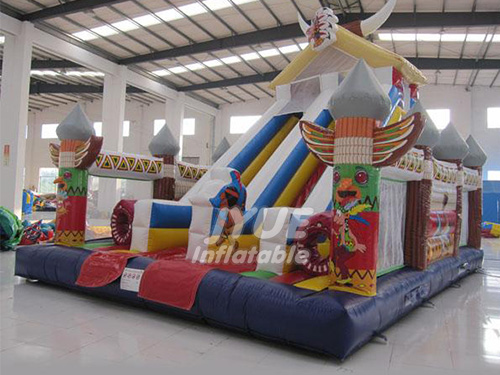 Giant Inflatable Fun City For Kids