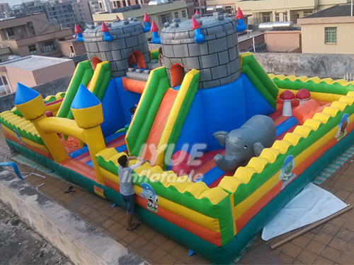 Outdoor Inflatable Ground Park for Sale