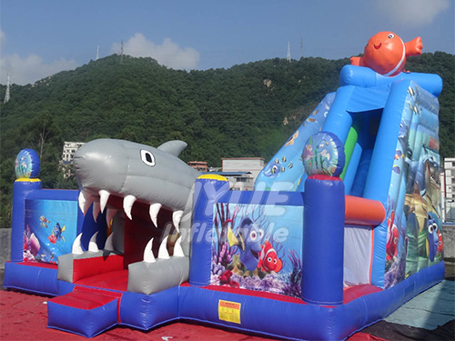 Inflatable Fun City Bouncer Park