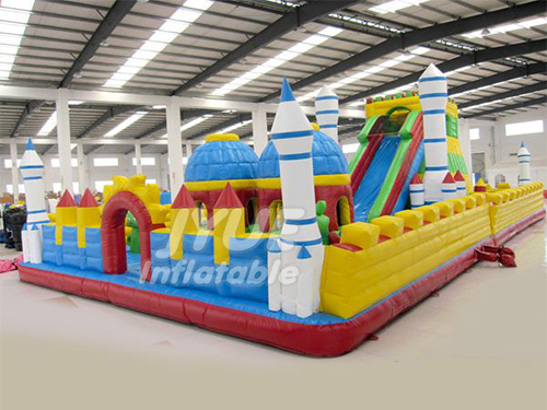 Outdoor PVC Commercial Giant Inflatable Ground Park for Sale
