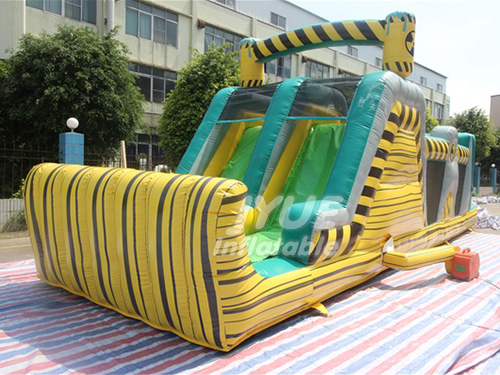 Commercial Inflatable Obstacle Course Assault Course Races