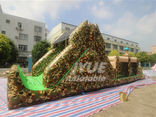 Military Army Boot Camp Boot Camp Theme Inflatable Obstacle Course