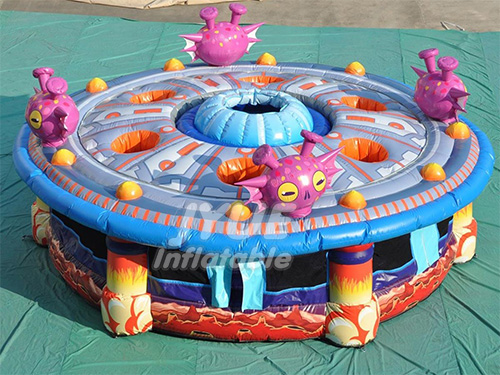 Outdoor Sport Game Inflatable Whack A Mole Human Wack A Mole For Kids and Adult