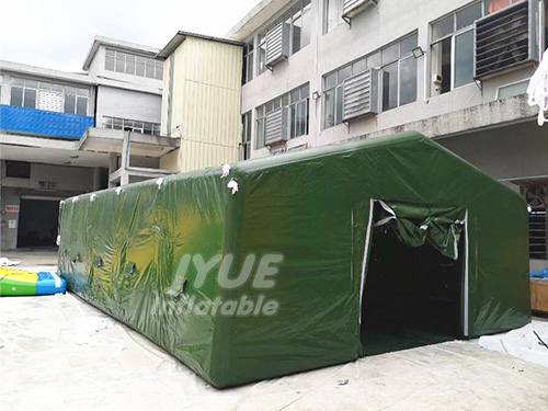 Camouflage Inflatable Military Style Canvas Tents