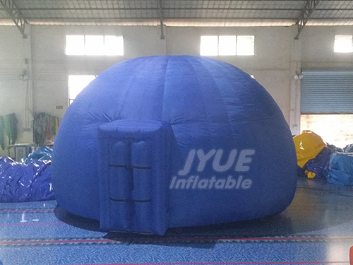 Blue Planetarium Dome for Museum