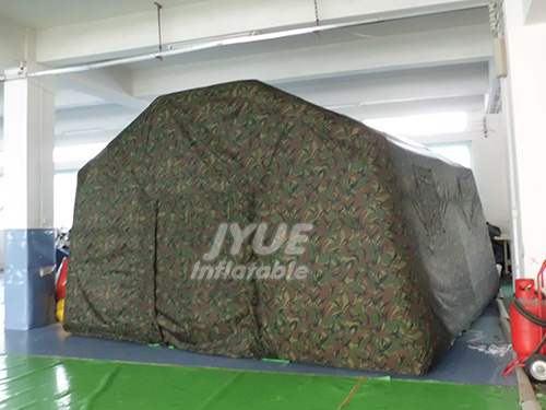 Inflatable Military Style Canvas Tents