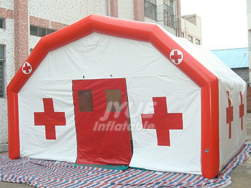 Inflatable Medical Tent,10m Long Inflatable Air Tight Medical Tent / Inflatable Emergency Tent