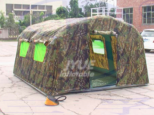Giant Inflatable Military Style Canvas Tents