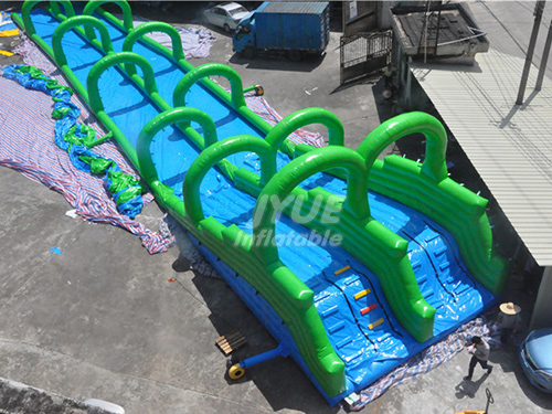 Inflatable Slip And Slide The City Largest Inflatable Water City Slide For Sale