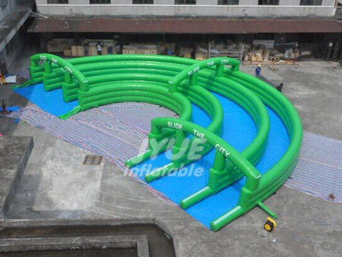 New Design Inflatable Water Park City Slide Giant Inflatable Water Slide For Adults