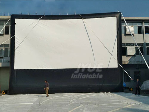 PVC Outdoor Inflatable TV Movie Screen