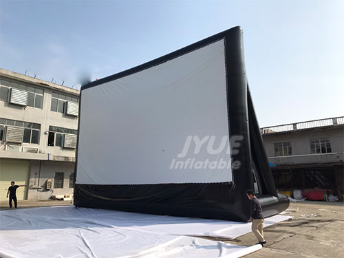Inflatable Rear Projection Screen For Outdoor Cinema