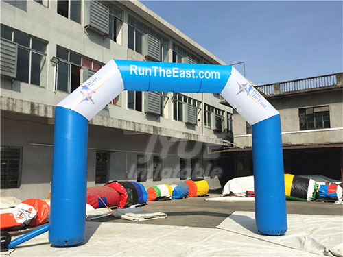 Customized Atart N Finish Line Inflatable Arch Price