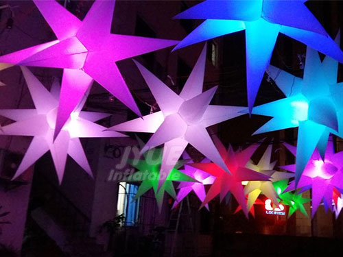 Inflatable LED Sstars