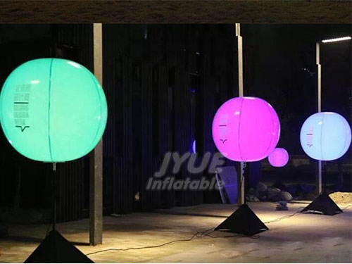 Outdoor Inflatable Remote Control LED Light Balloon
