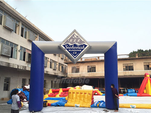 Advertising Inflatable Arch Outdoor Custom Inflatable Entry Arch