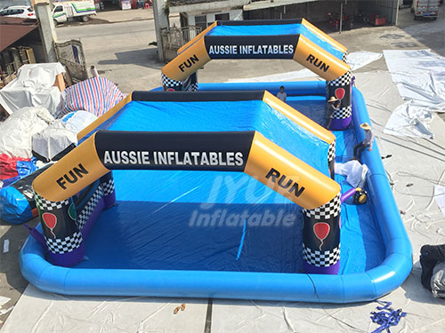 Inflatable Racing Run Arch For Event