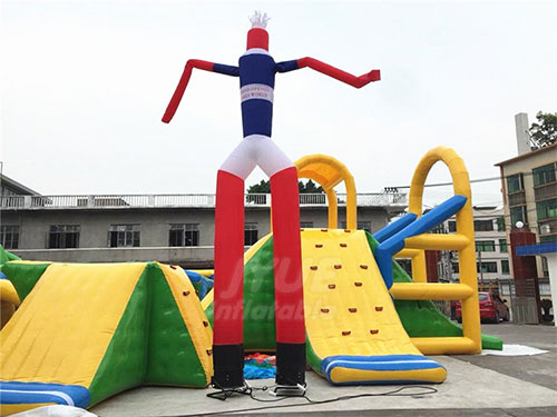 6m Wacky Waving Inflatable Tube Man Sky Dancer/ Mini Air Dancer For Sale