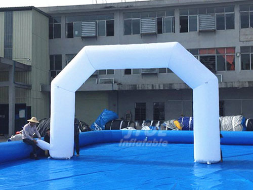 PVC Tarpaulin Inflatable Arch Blow Up Inflatable Arch Rental