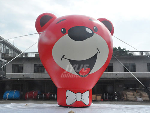 Hot Gaint Advertising Bear Inflatable Air Balloon