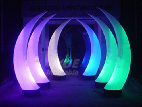 LED Promotional Inflatable Ivory With LED Light