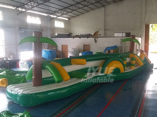 Water Park Equipment Inflatable Water Obstacle Course For Pool