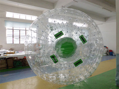 Super Quality Inflatable Colorful Grass Zorb Ball