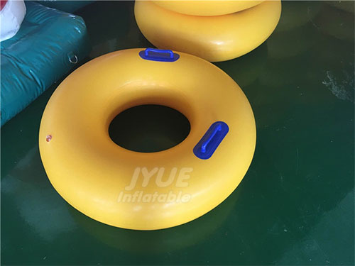 Commercial Custom Logo Inflatable Towable Water Sport Tube For Water Park Equipment