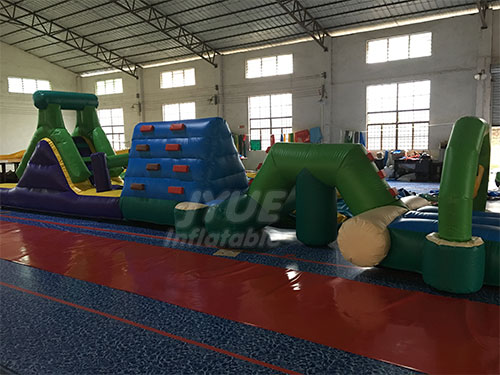 Blow Up Equipment Inflatable Water Obstacle Course For Sale