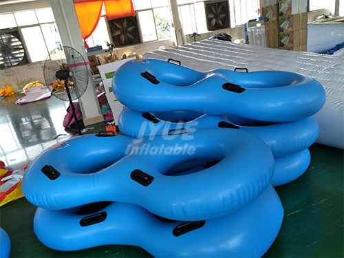 Lazy River Inflatable Double Tubes 2 Person Water Park Tube