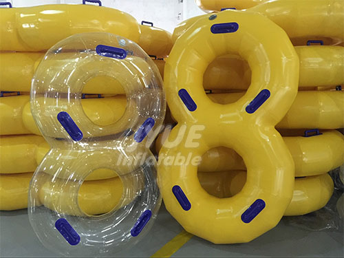 Commercial Five Handle Water Park Double Tube for Water Slide Tube