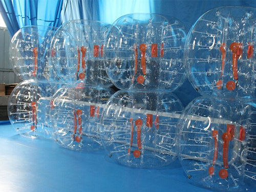 Best Selling PVC/TPU Bubble Ball Soccer