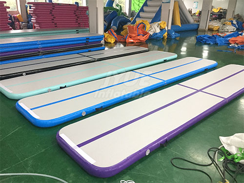 Factory Wholesale Price Floating Yoga Mat Inflatable Tumble Track Floor Tumbling Gym Mat Small Inflatable Air Track For Sale