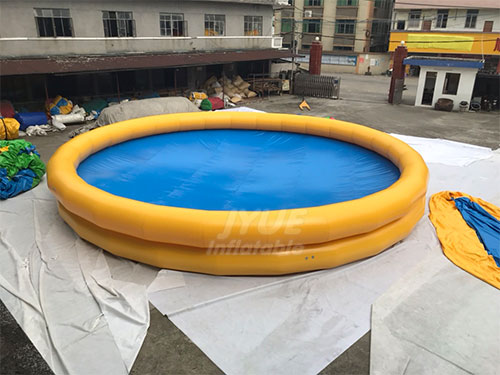 Blow Up Portable Swimming Pool Round Kids Inflatable Swimming Pool For Adults