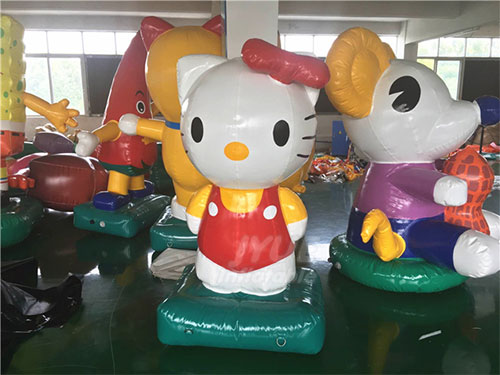 Hello Kitty Inflatable Character Cartoon For Advertising