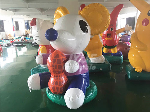 Attractive Mouse Inflatable Cartoon For Outdoor Advertising