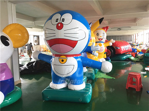 PVC Outdoor Decoration Animal Doraemon Model Inflatable Cartoon