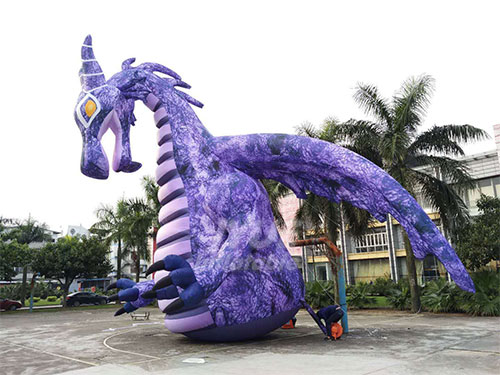 6m Tall Giant Inflatable Dinosaur/Inflatable Dragon Cartoon For Decoration