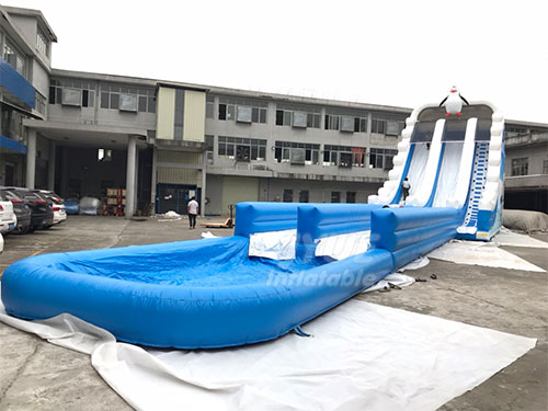 Water Slide Jumper Commercial Outdoor Inflatable Water Slide