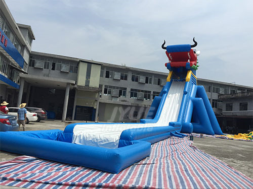 Cheap Blow Up Slides Dargon Inflatable Water Park Slide